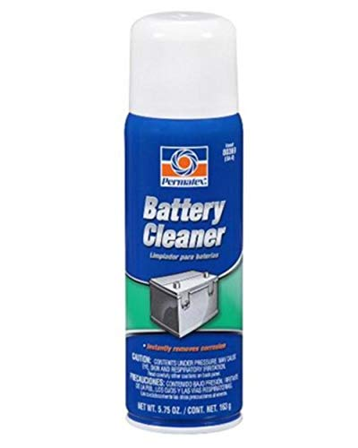 Permatex 80369 Battery Cleaner, 5.75 oz. net Aerosol Can