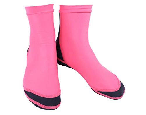Dive & Sail 1,5mm Lycra Neopren Wet Socken für Tauchen Scuba Surfen rot rot M