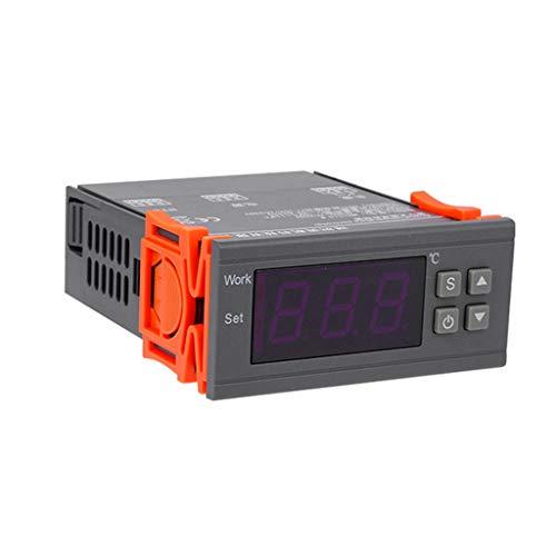 BIlinli MH1210W AC 90-250V Termómetro Digital Termorregulador Controlador de Temperatura Termostato Relé Sensor NTC para incubadora
