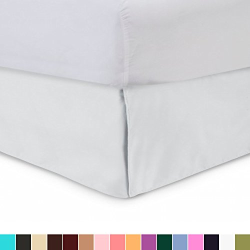 Harmony Lane Tailored Bedskirt - 18 inch Drop, Twin XL,...