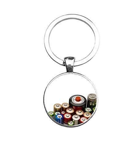 MC Living Schlüsselanhänger Glas - Batterien