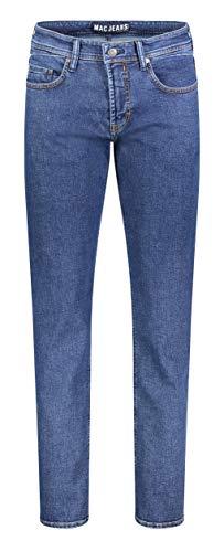 MAC Jeans Herren Ben Jeans, H608 Dark Stonewash, 38/34