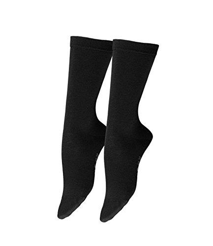 Falke Damen Socken Softmerino 3er Pack, Größe:41/42;Farbe:Black (3009)