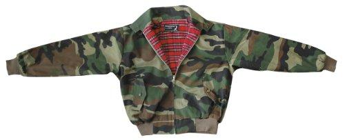 "Knightsbridge ""harrington"" veste motif camouflage taille m"