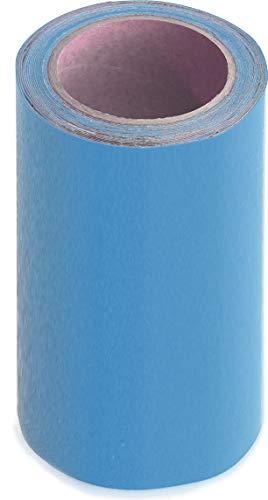 WUPSI PVC Reparatur Klebeband Für Alle Planen Und Folien, 5 Cm X 5 M (20 cm x 5 m, hellblau