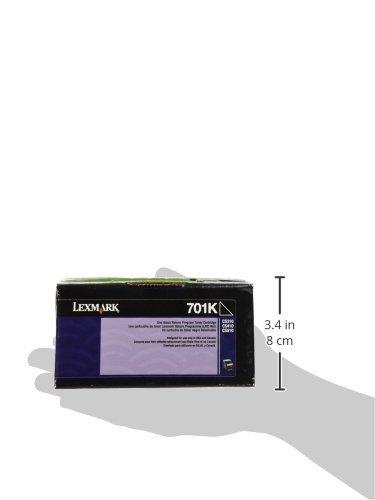 LEXMARK International 70C10K0 70C10K0 Toner (LEX-701K) 1000 Page-Yield, Black Photo #4