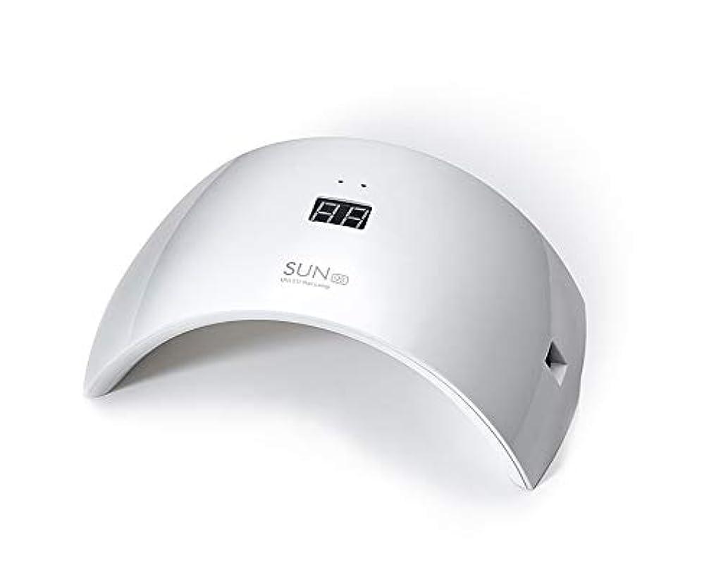 千ストリップメダルネイルドライヤー UV LEDネイルライト 24W ハイパワー 硬化用UVライト 赤外線検知 ジェルネイルライト 人感センサー タイマー付き ネイルランプ 速乾LEDダブルライト 母の日ギフト