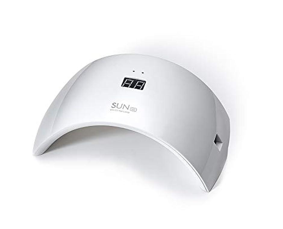 ヨーロッパ酔ったネズミネイルドライヤー UV LEDネイルライト 24W ハイパワー 硬化用UVライト 赤外線検知 ジェルネイルライト 人感センサー タイマー付き ネイルランプ 速乾LEDダブルライト 母の日ギフト