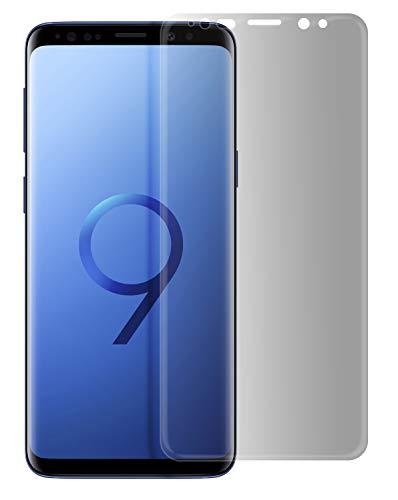 MyGadget Blickschutz Folie für Samsung Galaxy S9 Plus - Privacy Panzerglas 9H Displayschutz - Anti Spy Glasfolie Displayfolie abgerundete Schutzfolie