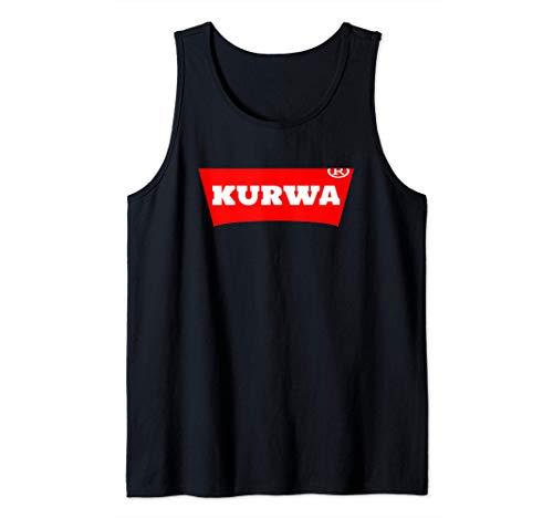 Lustiges Geschenk für Polen Kurwa Tank Top