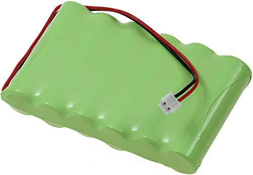 Powery Batería para electroestimulador Compatible con Modelos de Compex 032002690, 018004913 para Sport 400, Mi-Fitness, Sport 3, etc. de 7,2V (no Original)