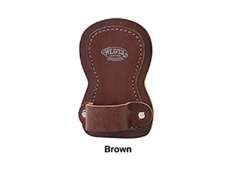 Weaver Leather Cow Calf Steer Holstein Heifer Brown Leather Show Comb Holder