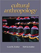 Cultural Anthropology by Ember 13th Edition (Paperback) Textbook Only