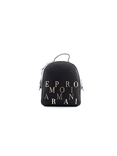 Emporio Armani Rucksack mit Logo, Schwarz (schwarz), Einheitsgröße