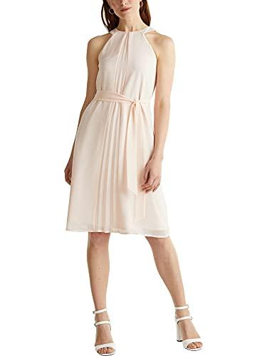 ESPRIT Collection Damen 040EO1E341 Kleid, 695/PASTEL PINK, 40