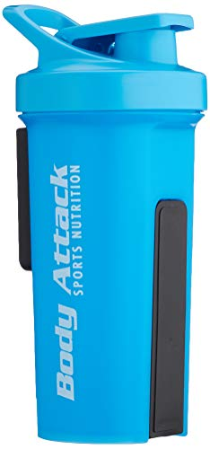 Body Attack Sports Nutrition GA Shaker, Blau, 1000 ml
