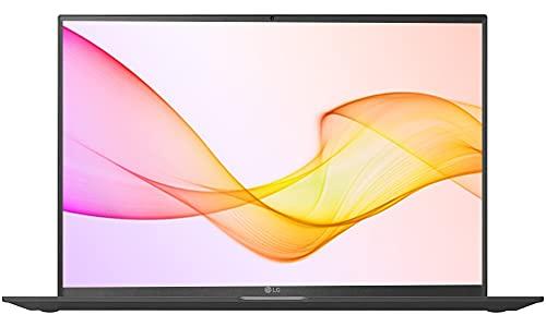 LG Gram 17 Ultra-Light 11th Gen Core i5,8 GB RAM, 512 GB SSD, Win-10, Iris Xe Graphics, 17-inches (43.18 cms), Thunderbolt 4, USC -C x 2 (with Power), 1.35 kg, 3 Yr Warranty (17Z90P-G.AJ55A2, Black)