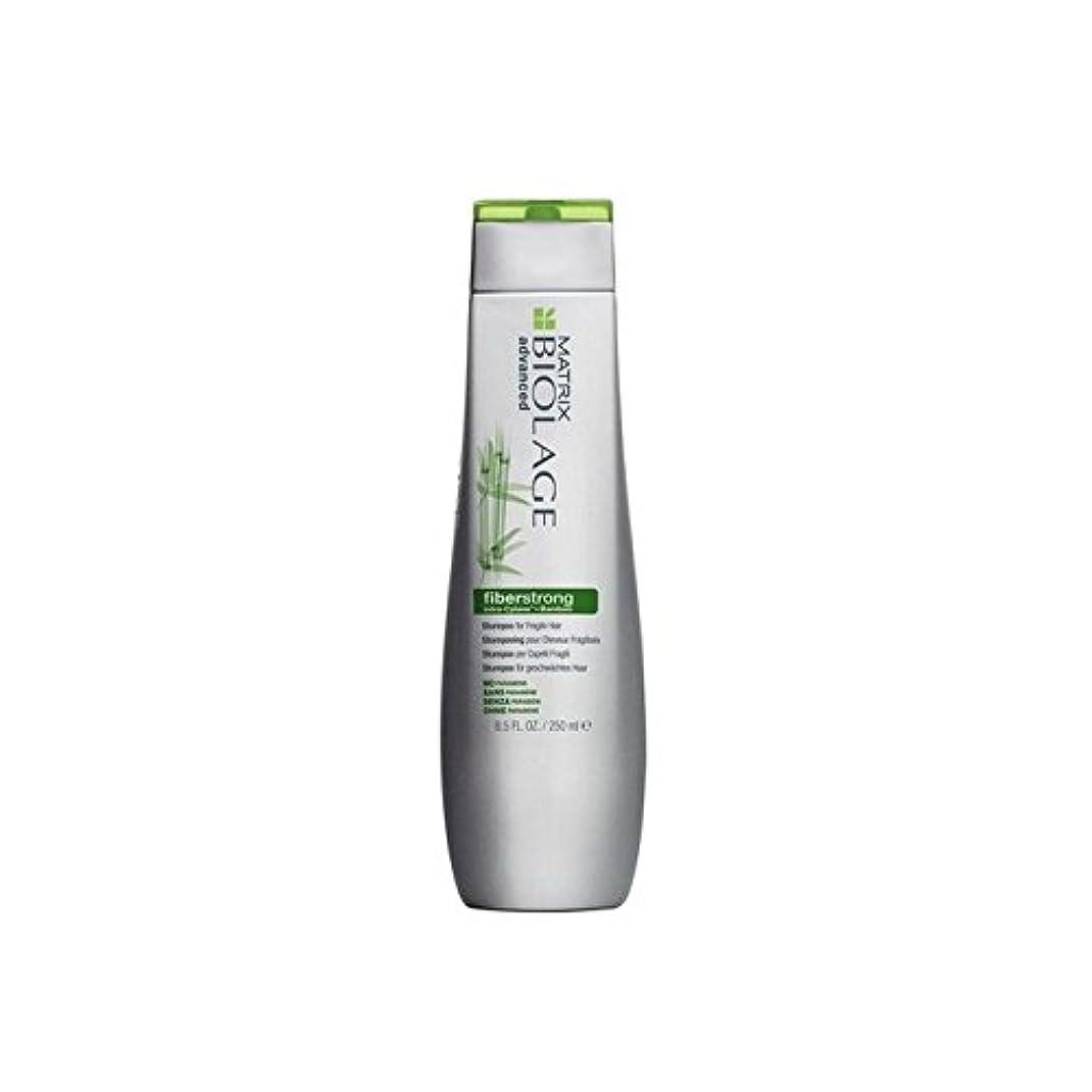 噴出する裸借りているマトリックスバイオレイジのシャンプー(250ミリリットル) x4 - Matrix Biolage Fiberstrong Shampoo (250ml) (Pack of 4) [並行輸入品]