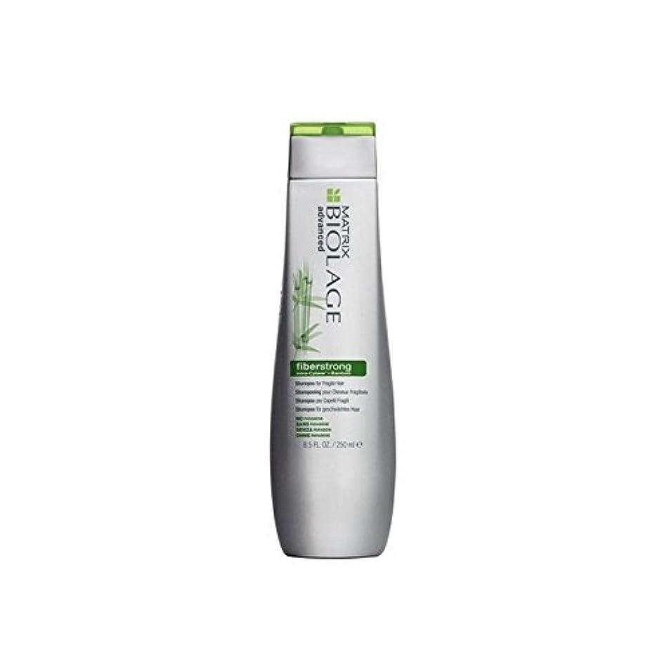 純粋に国民投票斧Matrix Biolage Fiberstrong Shampoo (250ml) - マトリックスバイオレイジのシャンプー(250ミリリットル) [並行輸入品]