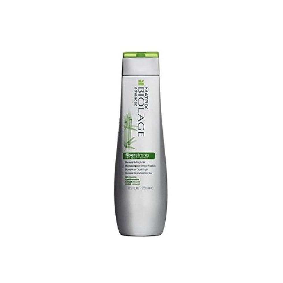 エンドテーブル忠実な地域マトリックスバイオレイジのシャンプー(250ミリリットル) x4 - Matrix Biolage Fiberstrong Shampoo (250ml) (Pack of 4) [並行輸入品]