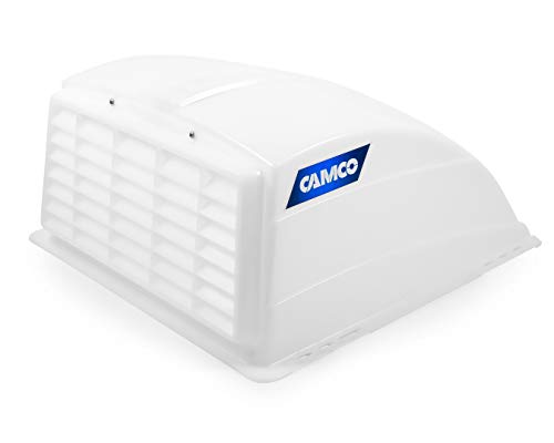 Camco 40431 RV White Roof Vent Cover