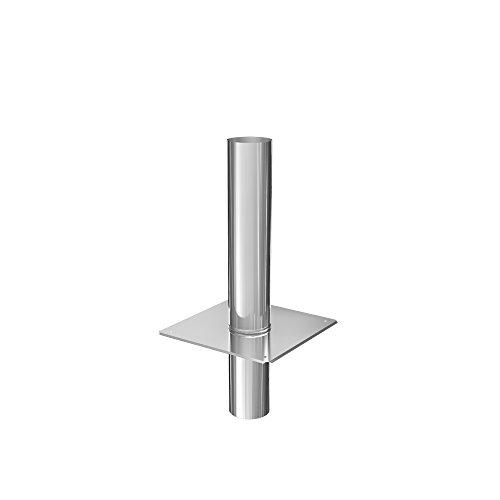 Schornsteinverlängerung einwandig 0,5 mm DN 200 500 mm
