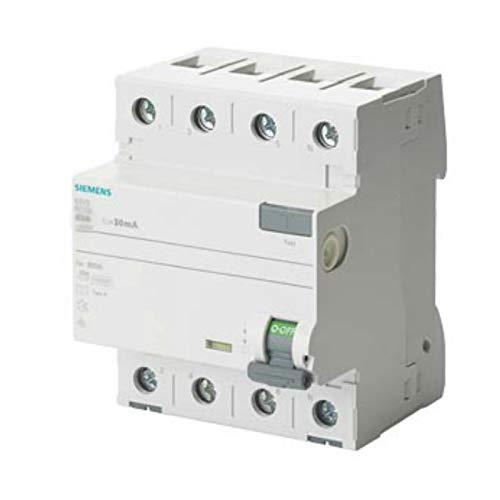 Siemens FI-Schutzschalter B 25/4 300MA 4TE 5SV3642-4