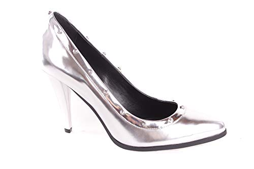 Diesel Damen Pumps Stilettos CAGE D-Lights D-Onna (EUR 38, Silber)