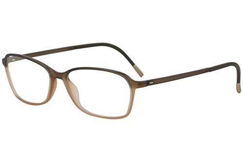 Eyeglasses Silhouette SPX Illusion Full Rim 1583 6030 Khaki Caramel 50/14/130 3