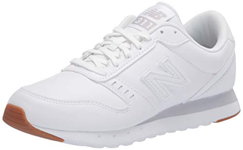 New Balance Women's 311 V2 Sneaker, White, 5.5 M US
