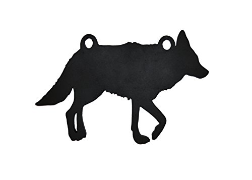 """High Caliber AR500 Animal Targets - Coyote - 16"""" X 24"""" X 1/2"""" - More Animals & Sizes in The Listing - Steel Targets Practice for shooing Pistol and Rifles"""
