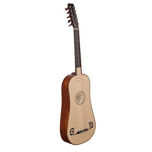 Heartland Sellas - Guitarra barroca de 5 cursos R/W izquierda