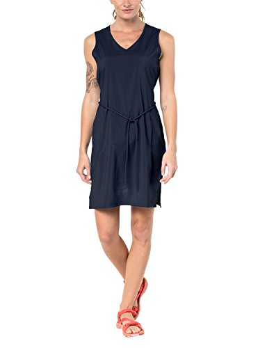 Jack Wolfskin Damen Kleid Tioga Road, Midnight Blue, M, 1504821