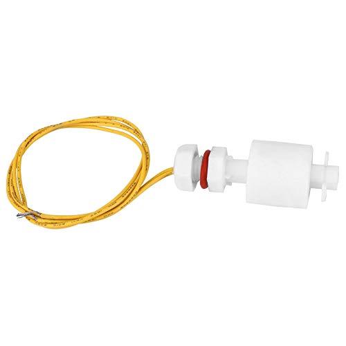 Changor Sensor de Flotador de Nivel de líquido confiable, Sensor de Nivel de Agua 0.5~1A 0~220V -10 ~ + 85 ° C Plástico Hecho