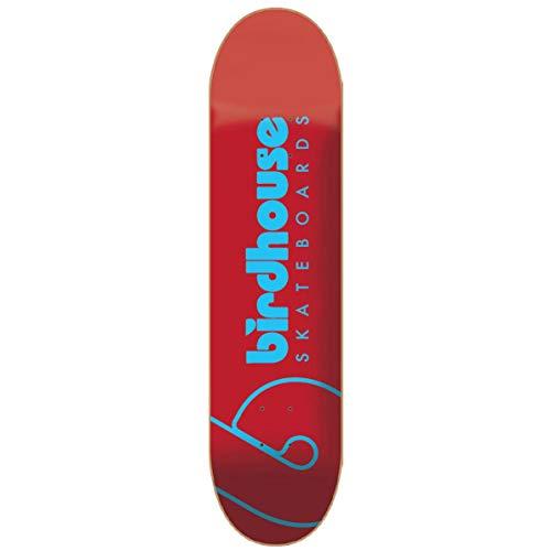 BIRDHOUSE Skateboards Skateboard-Brett / Deck, Team-Logo, 20,3 cm, Blau