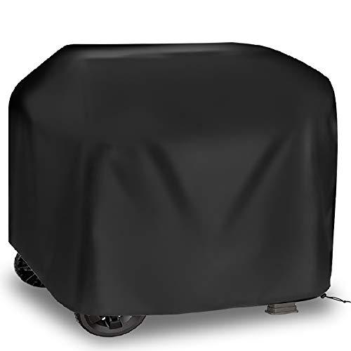 Cubierta para Barbacoa 105x49x102cm Impermeable 210D Oxford Funda Protectora para Barbacoa Protector para Barbacoa Funda para Barbacoa para al Aire Libre Resistente al Desgarro Anti-Viento/UV