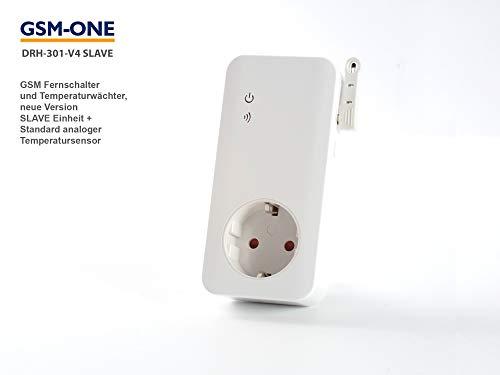 Slave Einheit zum GSM Fernschalter DRH-301-V4, Erweiterungseinheit mit Temp-Kontrolle