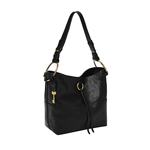 Fossil Bucket Bag, Black Now $85.01 (Was $258.00)