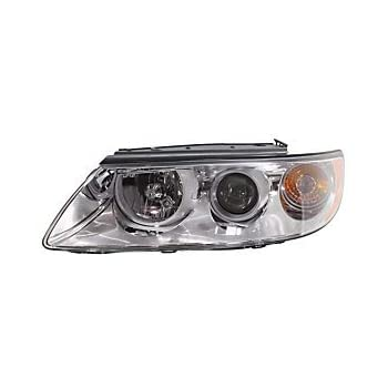 OE Replacement Hyundai XG300//XG350 Driver Side Headlight Assembly Composite Unknown Partslink Number HY2502131