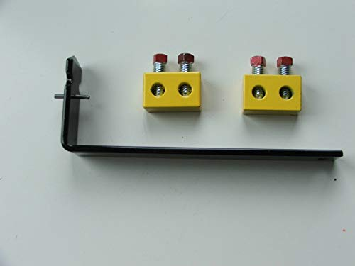 Learn More About Pair Yellow Torsion Spring Repair Block & Spreader Tool Kit OHD Garage Door Part