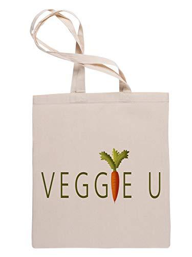 Veggie You Reusable Tote Shopping Bag