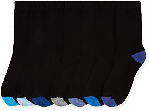 Marca Amazon - find. Calcetines Mujer, Azul (Blue), 39-41 EU, Label: 6-8 UK