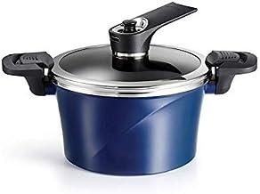 Happycall 3003-0083 (Korea) 20cm / 2.8L IH Vacuum Stock Pot with Self-Standing Lid Blue