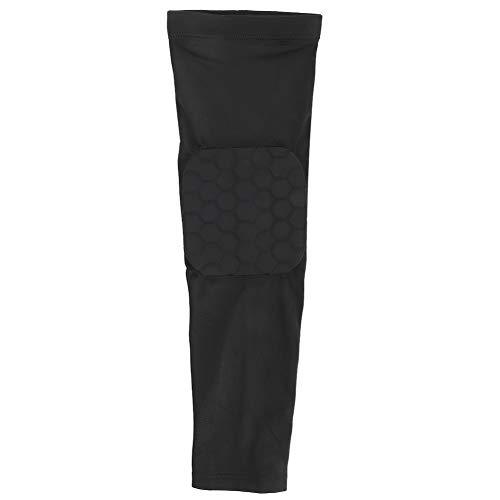 Wosune Codo ortopédico, práctico Brazo ortopédico de 3 tamaños, Funcionamiento Transpirable Duradero para Ciclismo(Black, L)