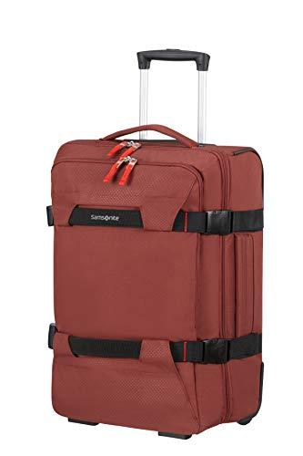Samsonite Sonora - Bolsa de Viaje con Ruedas S, 55 cm, 48 L, Rojo (Barn Red)