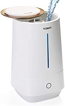 Tosot Top Fill 4L/1.1 Gallon Tank Cool Mist Humidifier