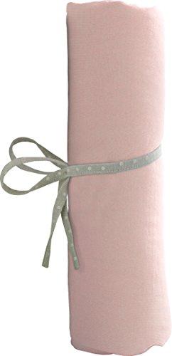 babyCalin Drap Housse Rose 40 x 80 cm