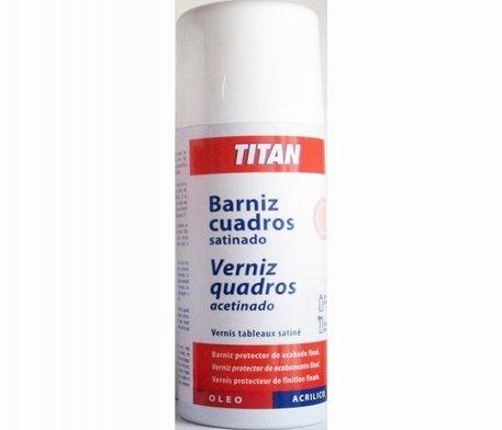 TITAN Karo Lack Spray 400ml Satiniert (Oleo/Acryl)