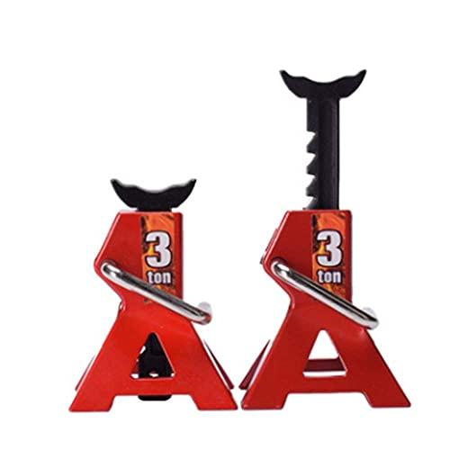 XXLYY RC Cars Metal Jack Stands Herramienta de reparación, 2pcs / Set RC Crawler 1/10 Herramientas de reparación de Coches de Escalada Diecast Vehículos Modelo Piezas Acceso