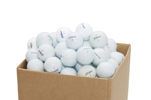 Second Chance - Set 100 Palline da Golf Titleist riciclate, categoria A